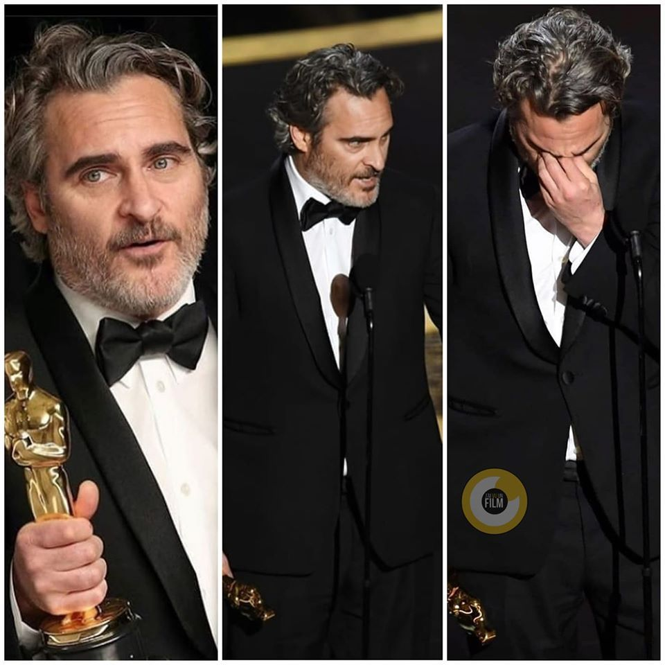 What a speech From You Joaquin_Phoenix in 2020 Joaquin