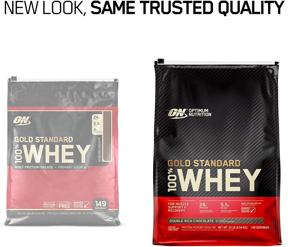 Optimum Nutrition Gold Standard 100 Whey Protein Powder Extreme Milk Chocolate 10 Pound Packaging May Va In 2020 Optimum Nutrition Whey Protein Powder Whey Protein