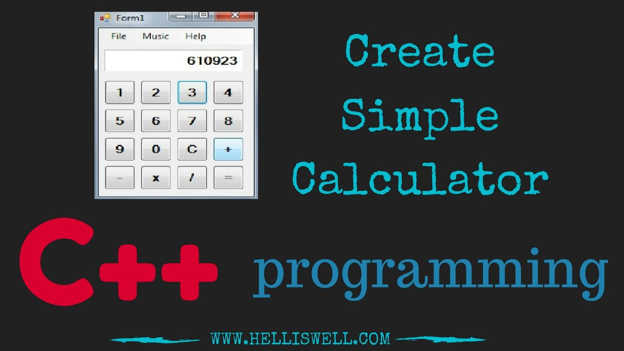 Pin by Code Devil on c++ | Calculator, Programming, Simple
