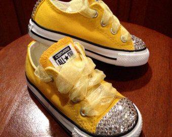 Bling converse, Bling shoes, Wedding