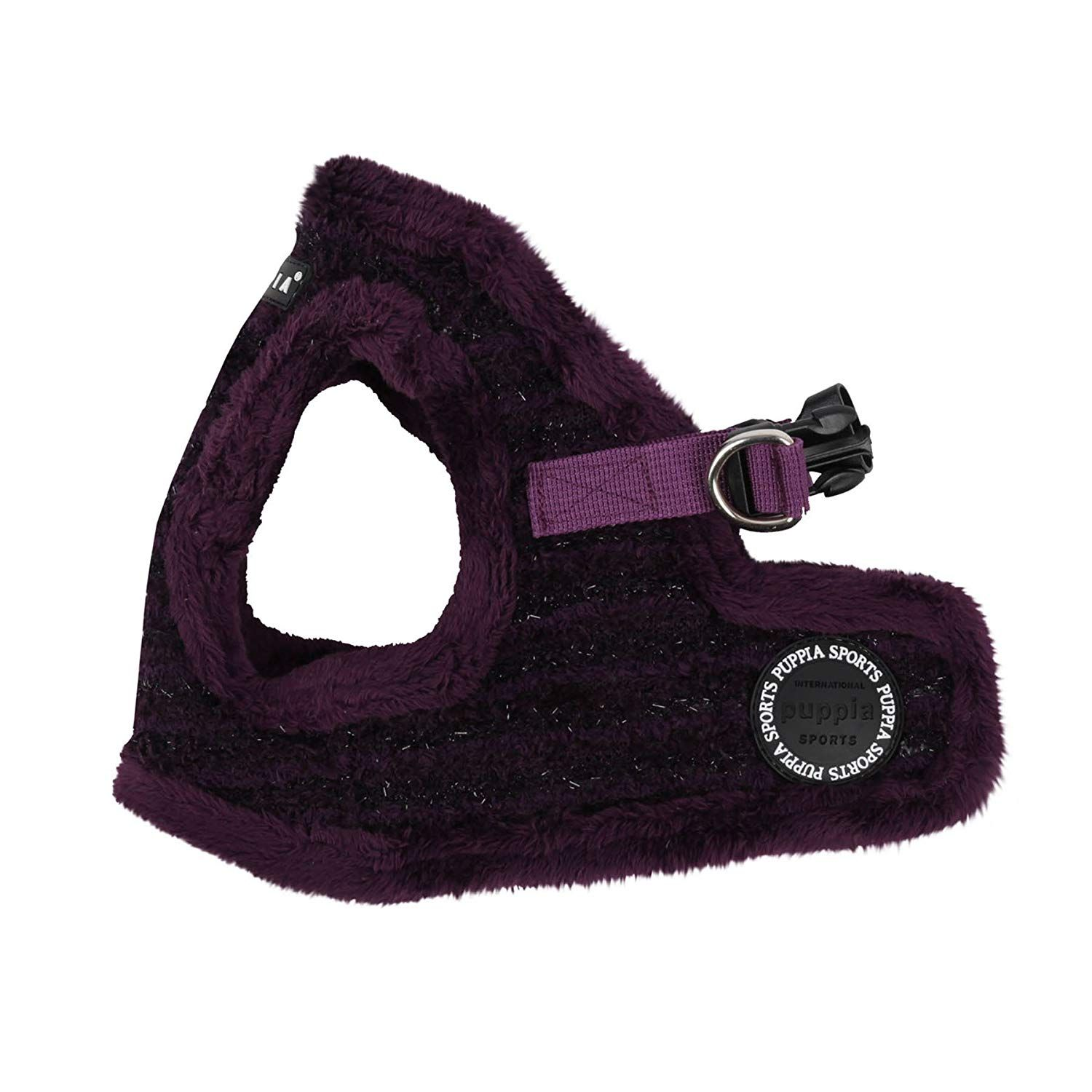 Puppia Authentic Wafer Vest Harness B, Large, Purple