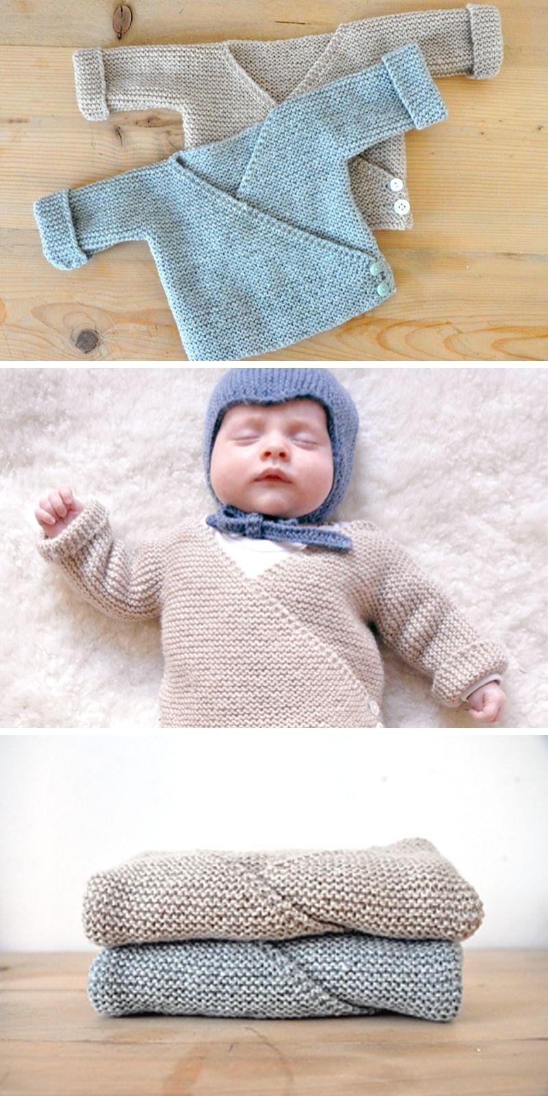 Baby Cardigan Free Knitting PatternLevel: beginner Author ...