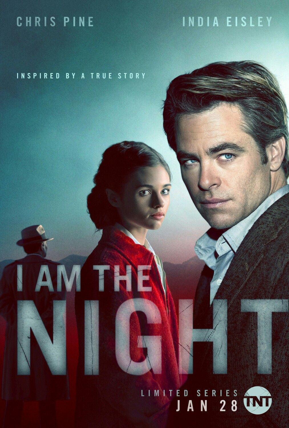 The Poster For The New Tnt Limited Series I Am The Night