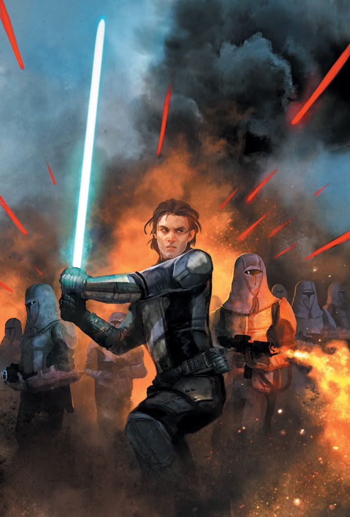 Cover art for 'Knights of the Old Republic: War #2' by ...