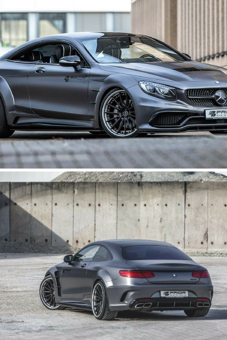 Prior design releases new wide body kit for mercedes benz s class coupe wide body kits benz s - Mercedes c class coupe body kit ...