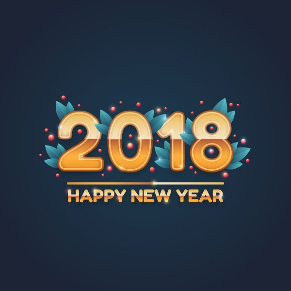 how to design a festive 2018 new year card in adobe illustrator vectips boonna08 new
