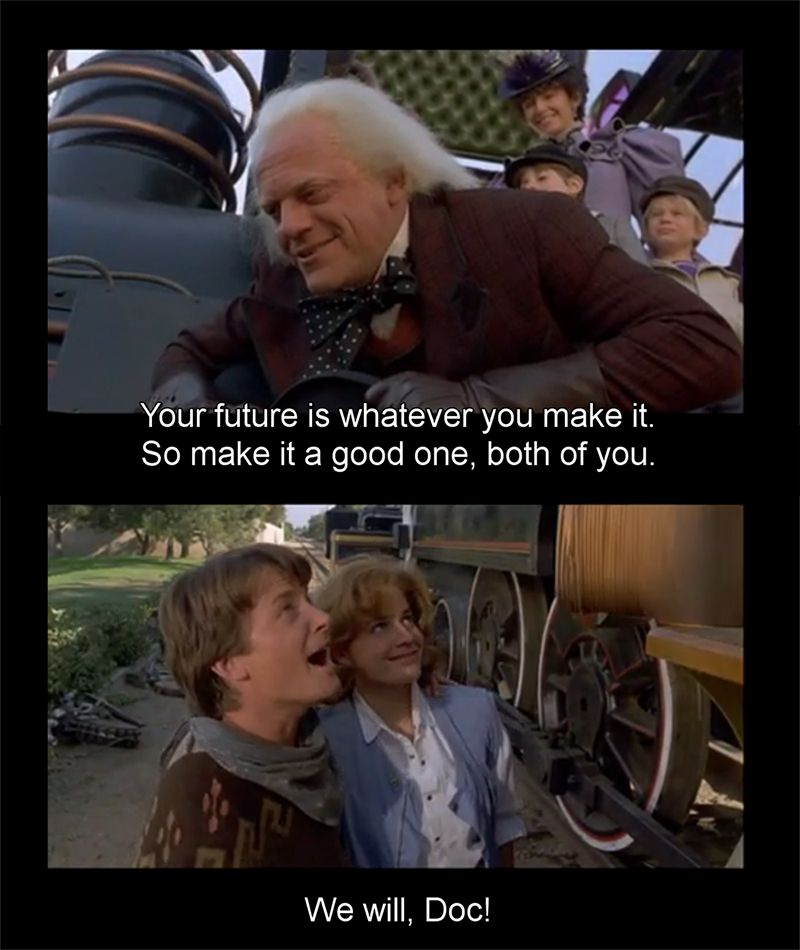 From Back To The Future Iii One Hell Of A Good Movie Movie