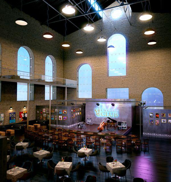 Architecture Interior Design Elvin Aliyev Jazz Club Interior Jazz Club Jazz Cafe