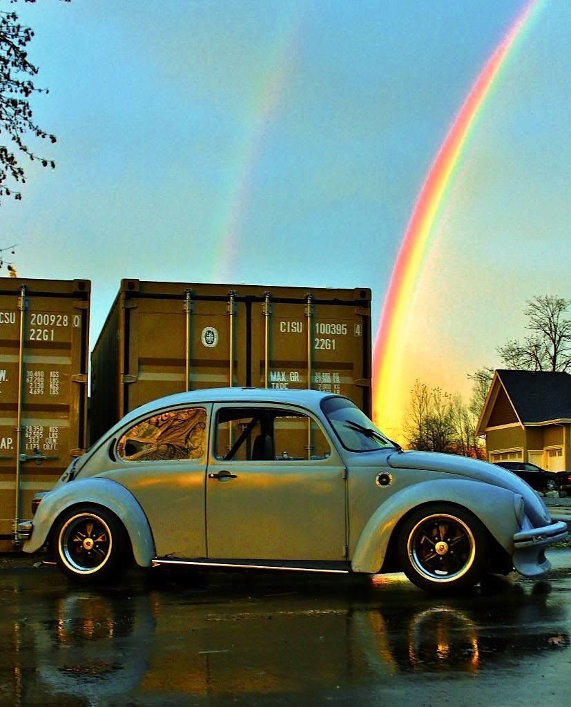 VW Beetle w Subaru EJ20T Turbo Engine. Get your #VW #Peace #shirts here. https://www.etsy.com/listing/208314471/vw-peace-shirt-unisex-yingyang-original
