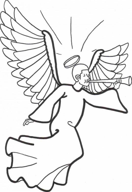 coloring pages of trumpets - photo#34