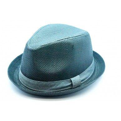 0b3e43d76 Men's Straw Flip-Up Brim Fedora Hat   Fedora Headwear   Hats, Fedora ...