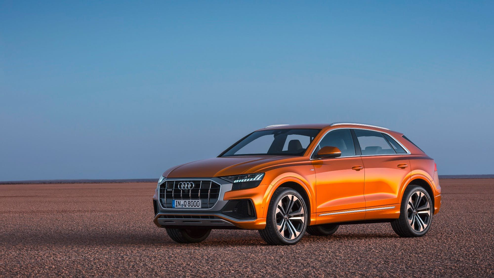 Audi Tops Its Suv Range With New Q8 Audi Audi Suv Audi Sportback