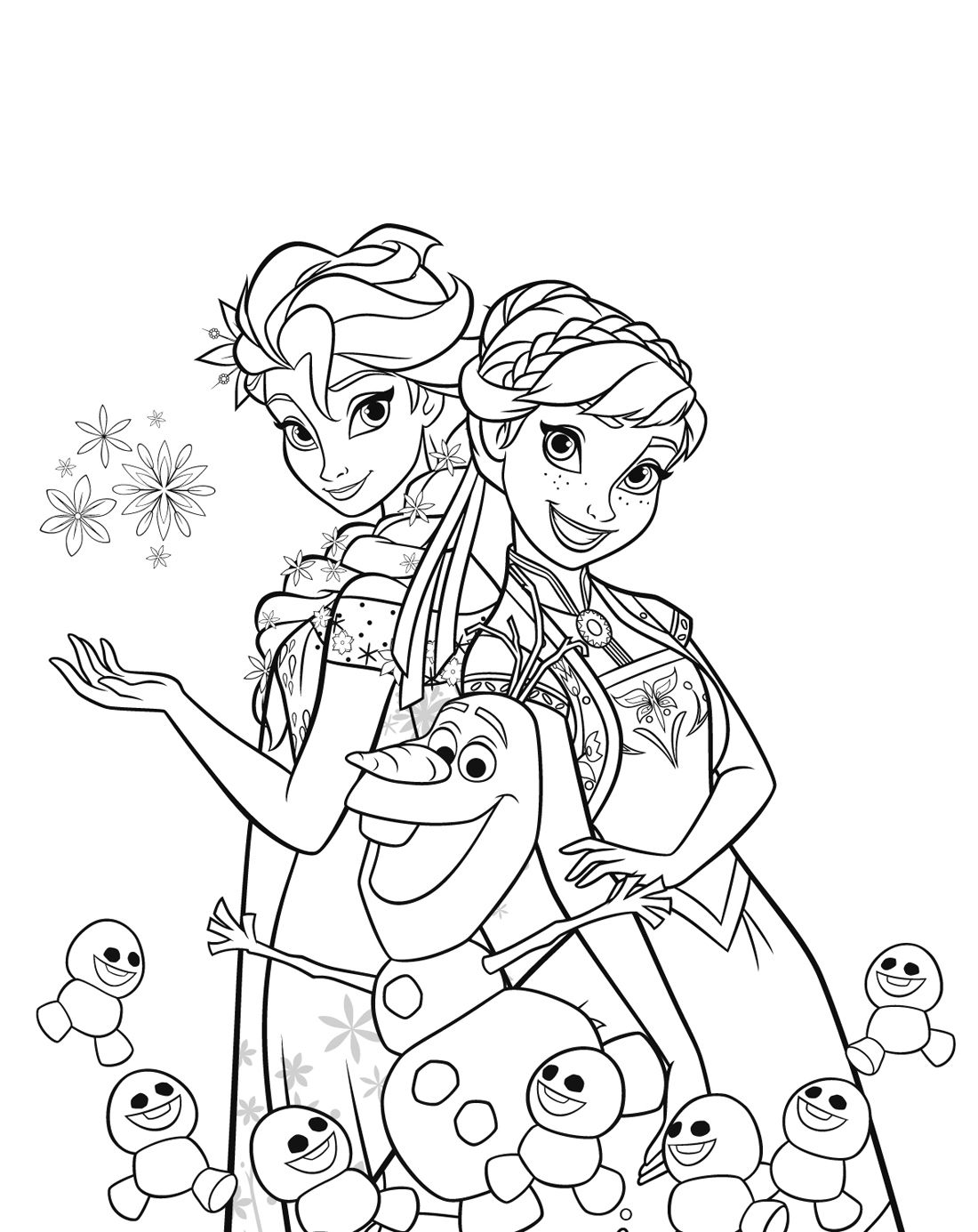 71 Disney Anime Coloring Pages Pictures