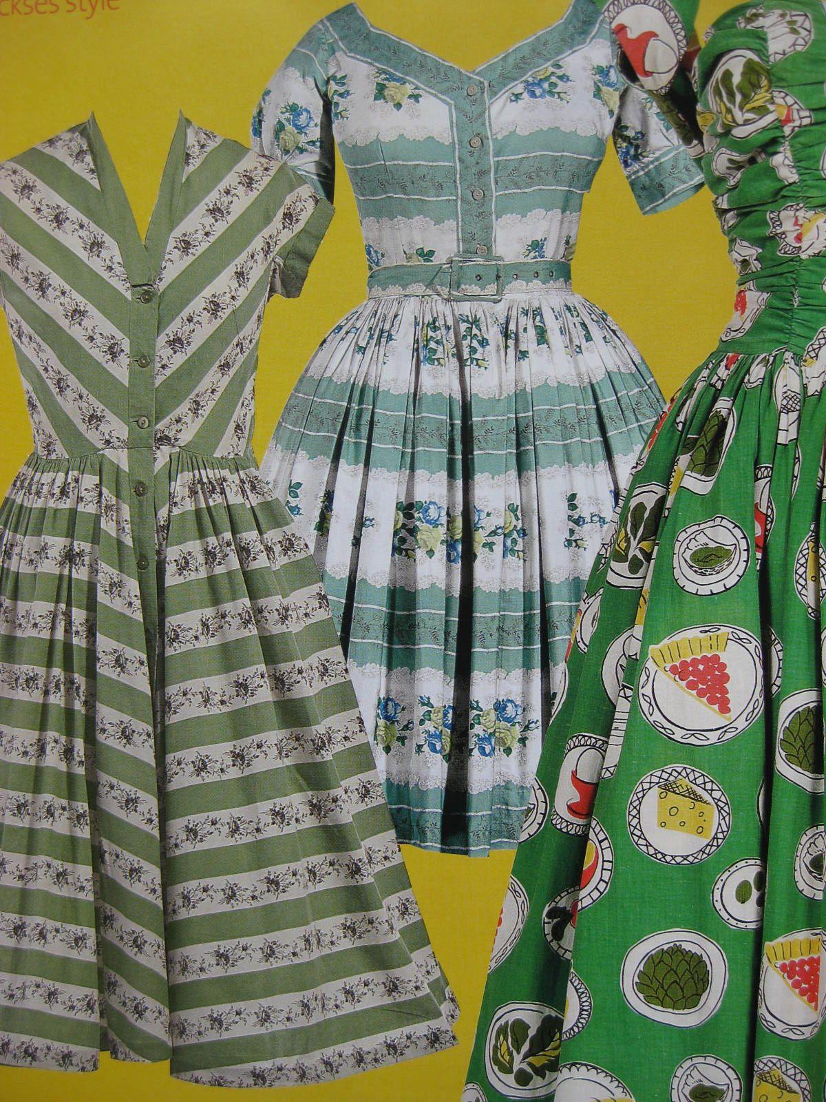 Great Print Exhibition Caroline Banks Fashion Vintage Inspired Dresses Vintage Dresses