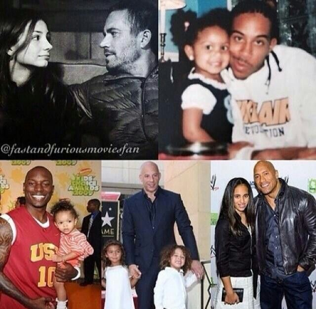 Happy Father's Day ! The Fast Family. ❤❤❤ Fast Family for Life ❤ ❤ ❤ #RememberTheBuster