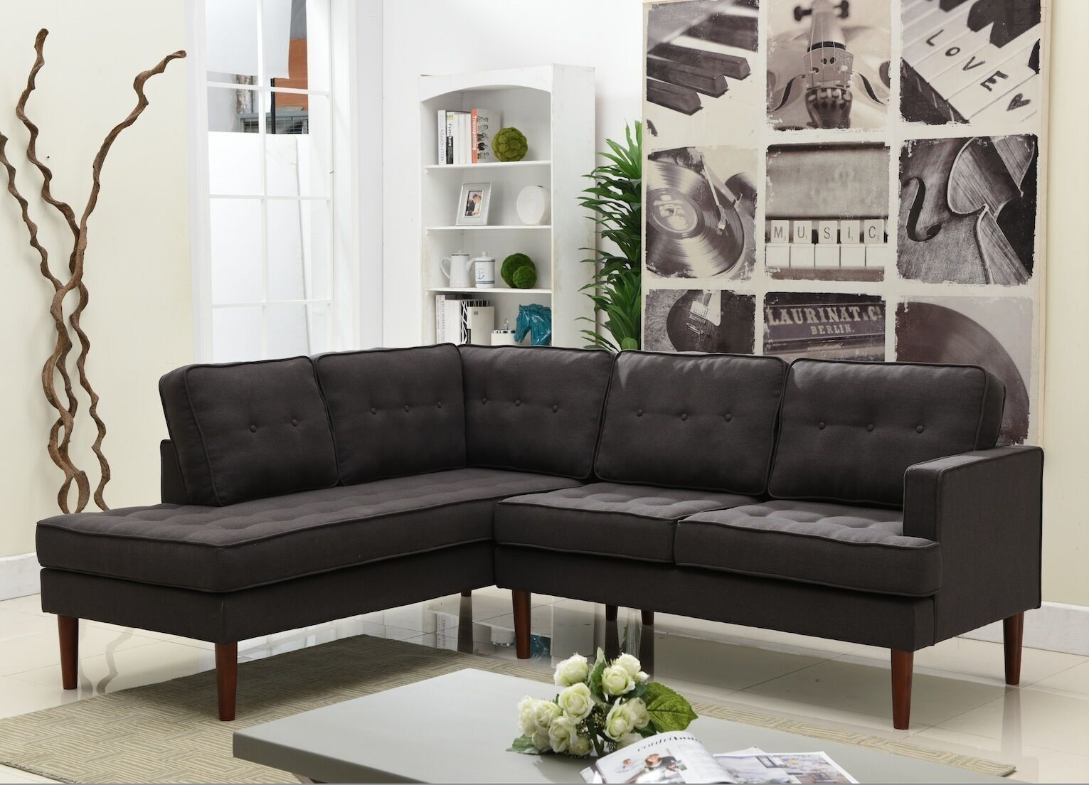 Camden Left Sectional Sectional Sofa Couch Furniture Modular Sectional Sofa