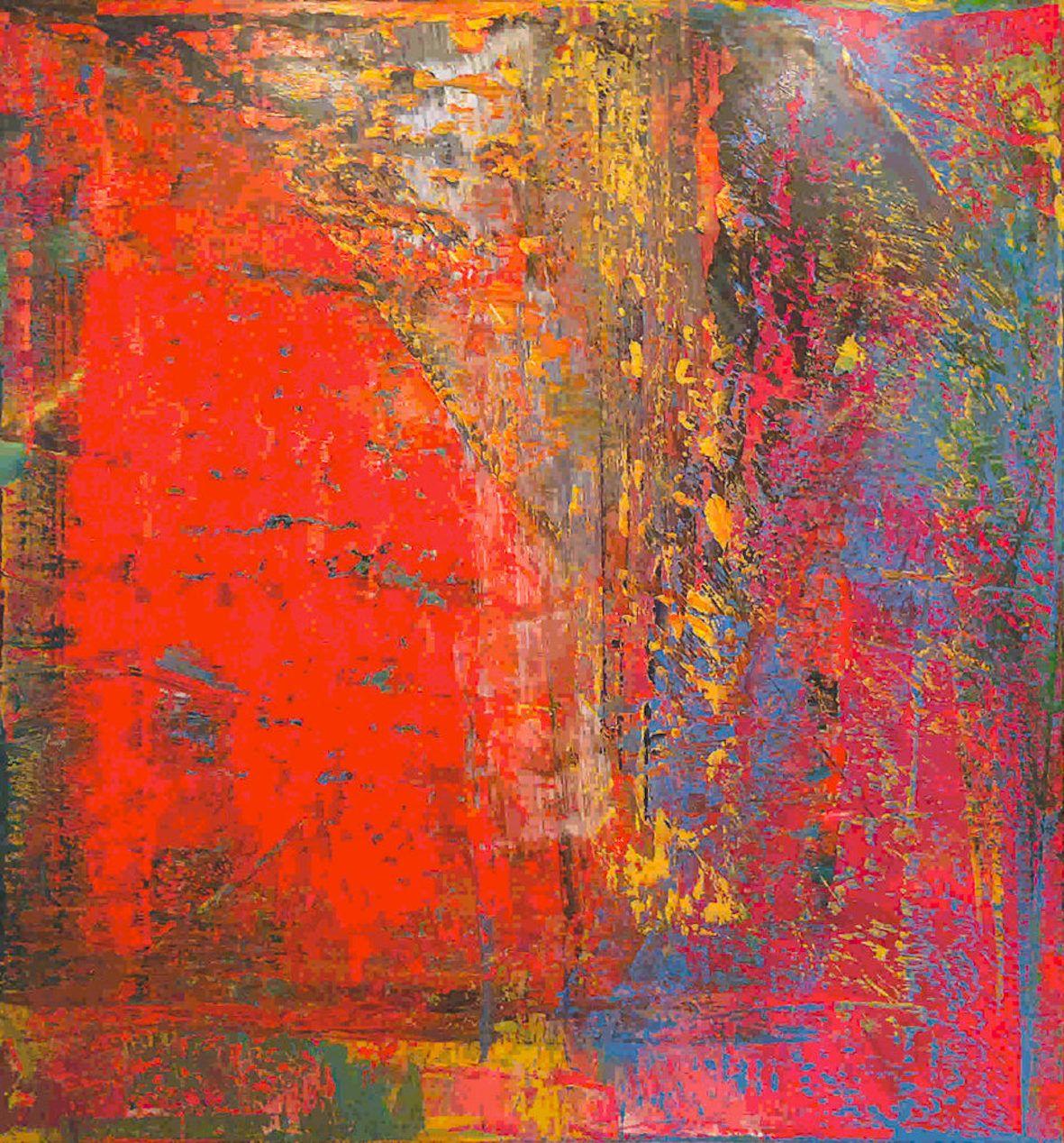 Gerhard Richter Abstraktes Bild 1986 European Art Abstract Artwork Art