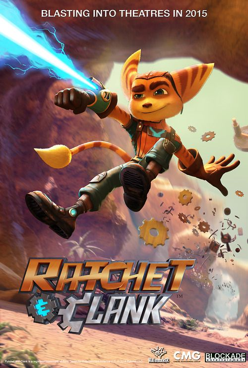 Ratchet Clank Movie Poster Ratchet Animated Movies Video Game Characters