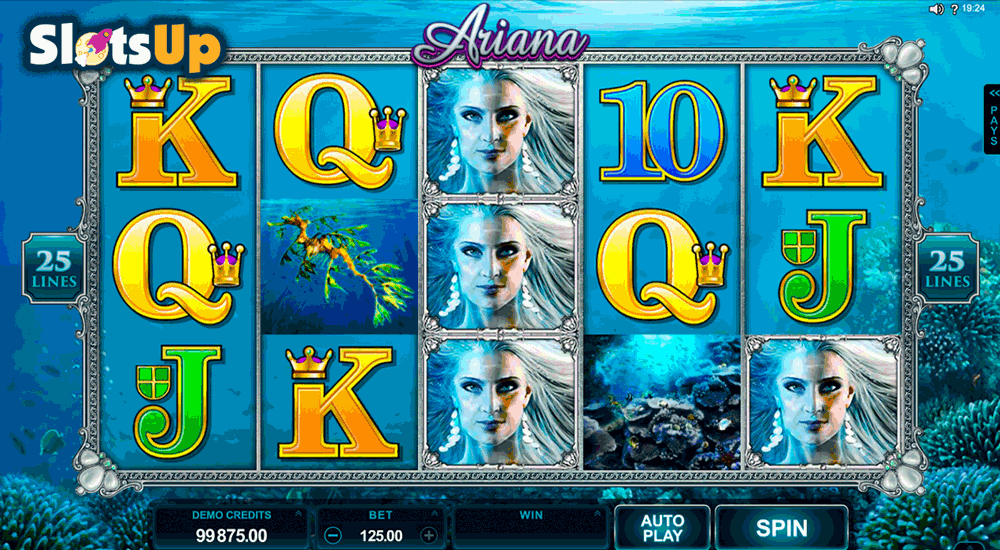 Ariana Slot by Microgaming Play FREE at SlotsUp! Casino