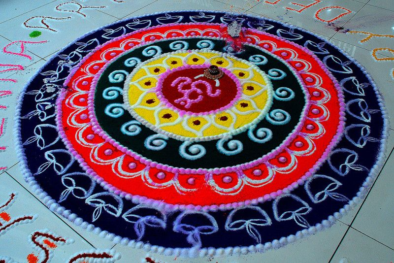 We Have Collected Some Of The Best Diwali Rangoli Designs That You Can Try On Making Competition Or Use To Decorate