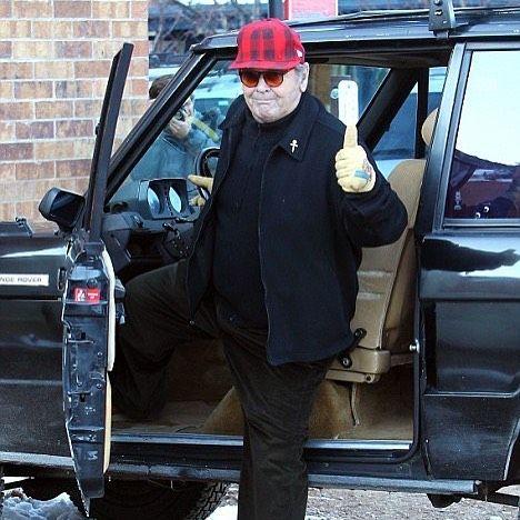 We don't normally do celebrity endorsements but 2 door Range Rover