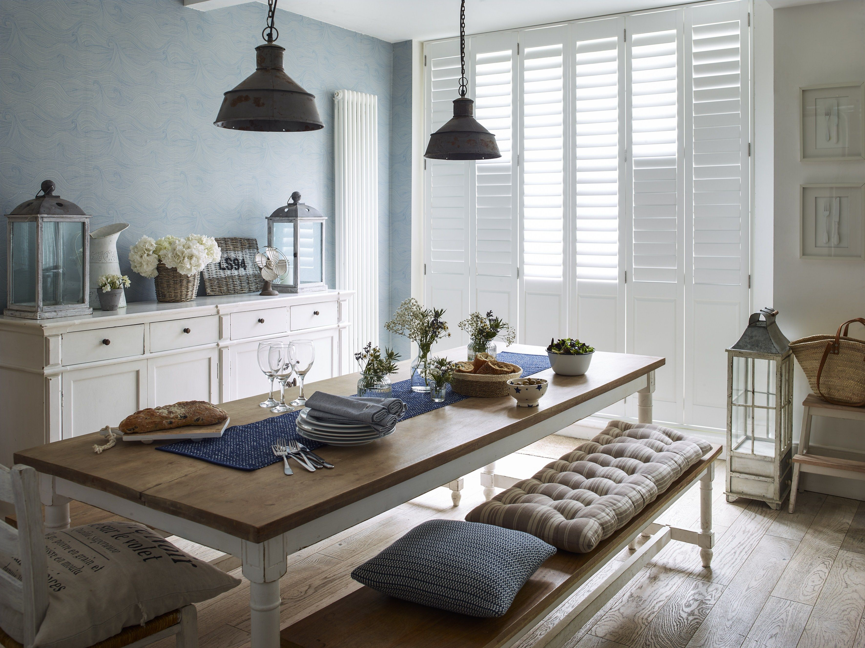 Awesome interior collection of Basswood Shutter for your