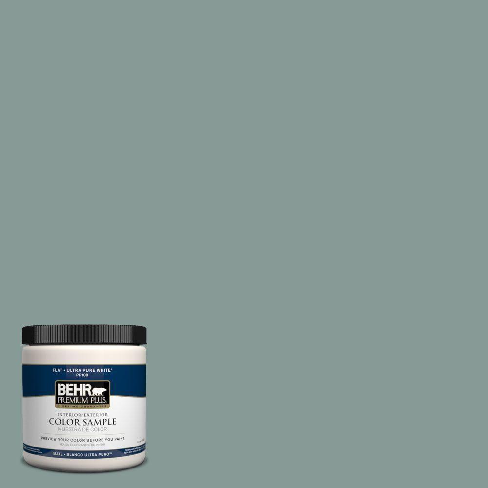 home depot behr 5 gallon exterior paint. behr premium plus 8 oz. #490f-5 cloud burst interior/exterior paint sample home depot behr 5 gallon exterior t
