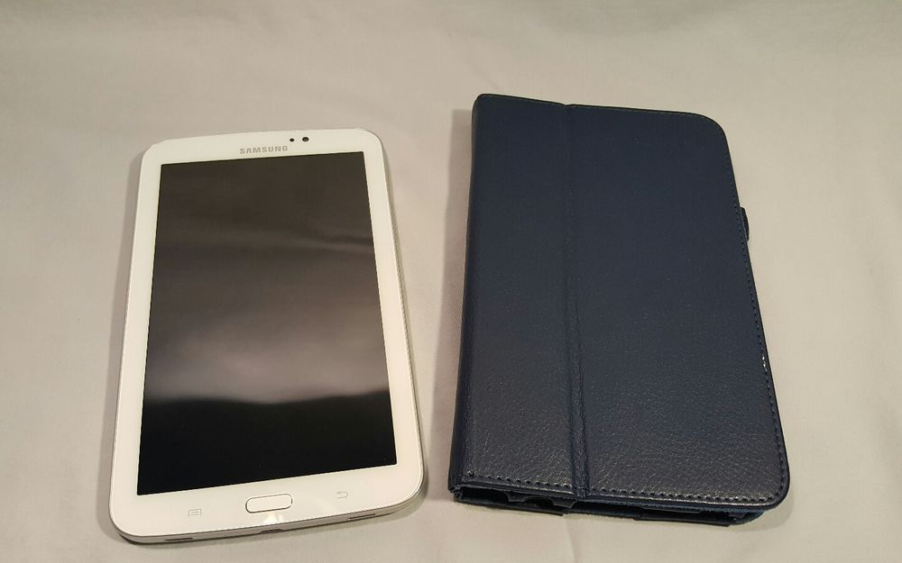 Samsung Galaxy Tab 3 SM-T210R 8GB, Wi-Fi, 7in - White EXCELLENT USED COND #Samsung