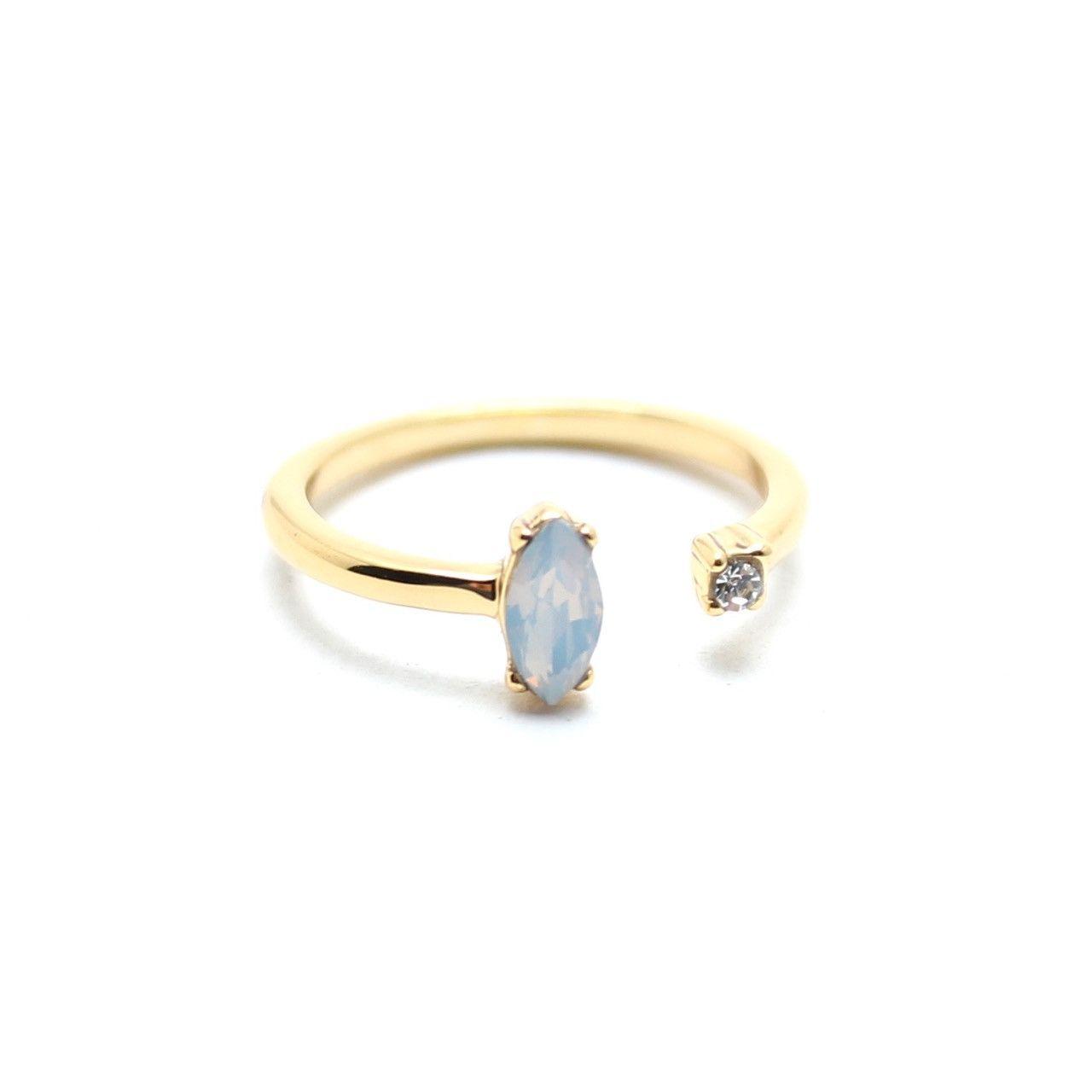Morning Star Open Midi Ring | Morning star, Ring and Jewel