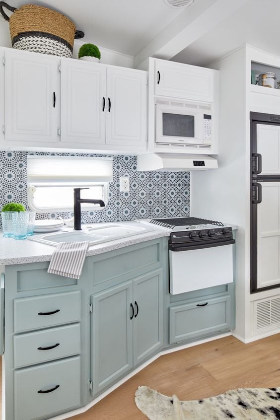 An HGTV Designer Gave This Fifth Wheel A Complete Makeover