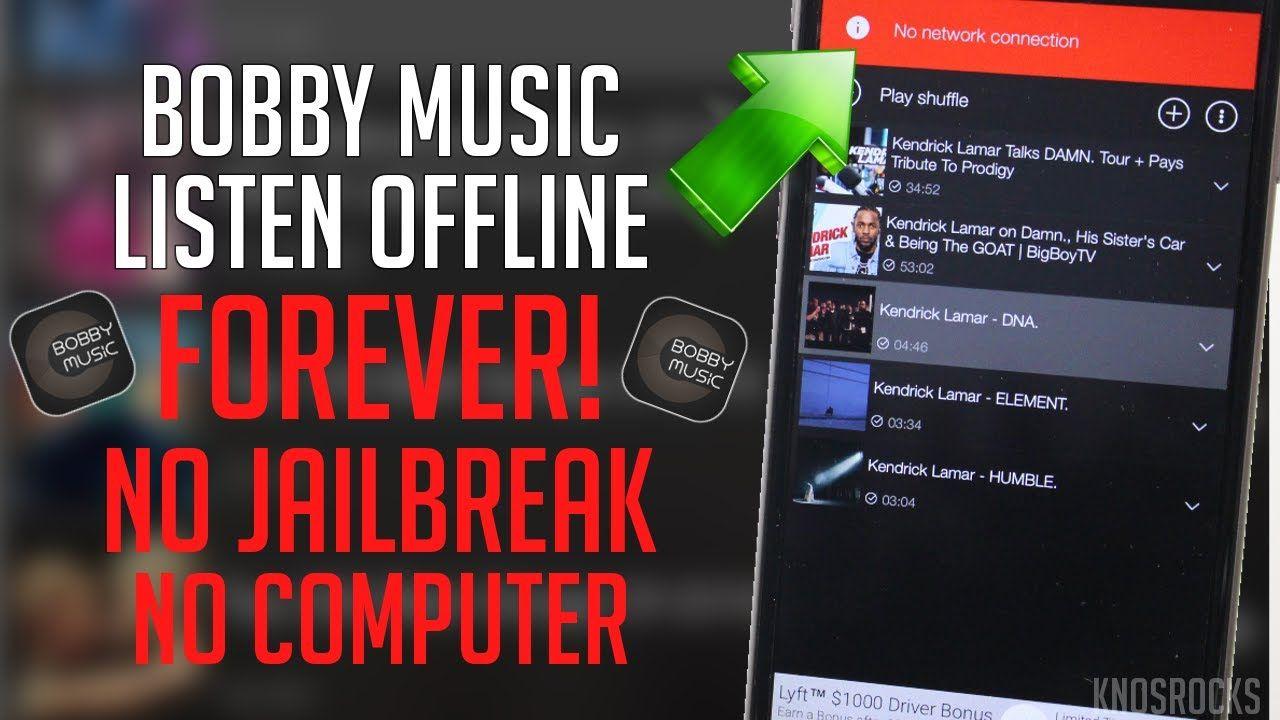 Download Bobby Music & Listen Offline iOS 11 / 10 / 9 Free