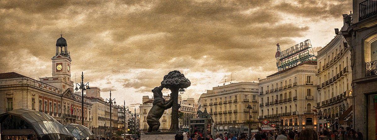 Cuadro Puerta Del Sol Madrid Nº01 La Puerta Del Sol Madre Sol