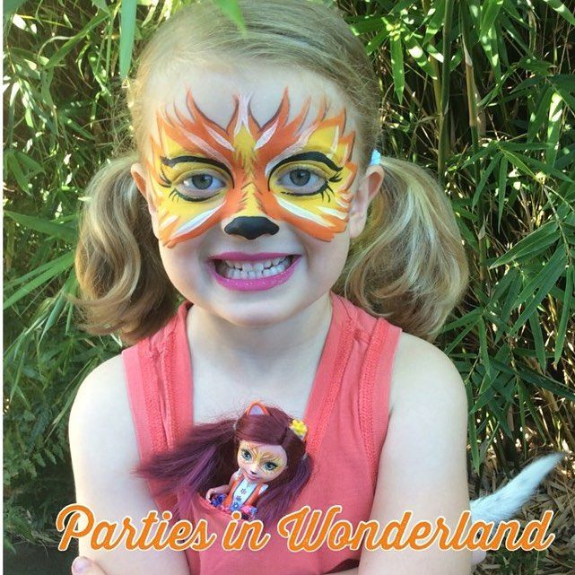 When You Buy A Doll That Has Its Face Painted You Have To Have Yours Painted To Match The Dolls One Of The Enchantimals Theyre It Face Paint Face Face Paint