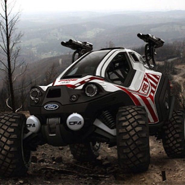 Ford Utv >> Ford S Concept Firefighting Utv What Would You Think If The Big