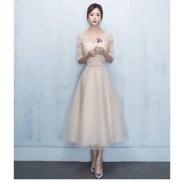 4394cb63d83a4 「花嫁ドレス ウェディングドレス 二次会ドレス お呼ばれドレス 結婚式 花嫁 ロングドレス パーティードレス