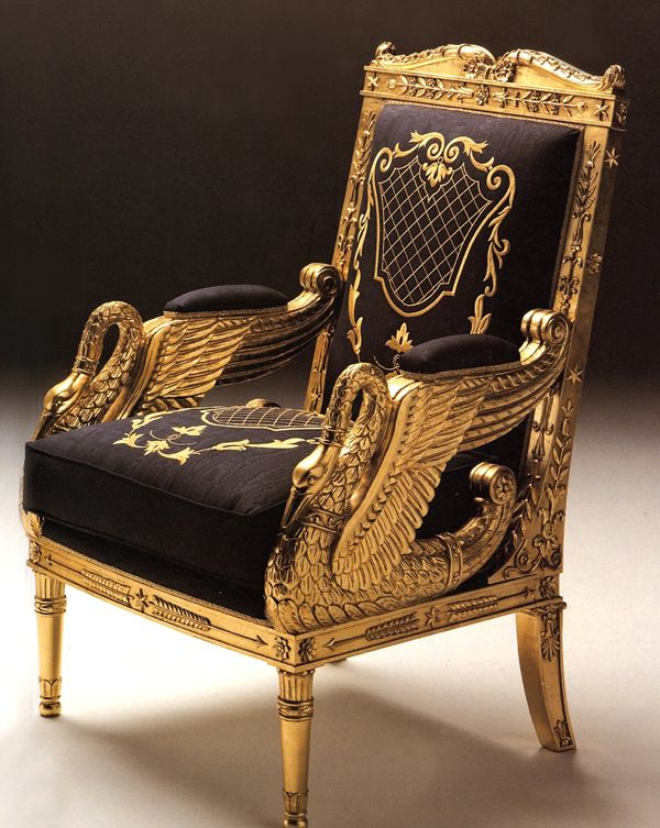 Luxury Showcase For Living Room Royal Art Deco: Italian Chairs European Style Seating Italian Wing Chairs
