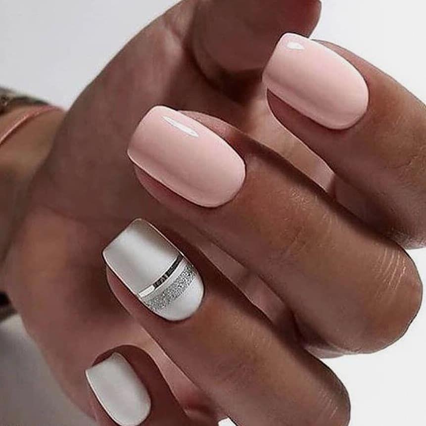 Fun Summer Nail Colors Easysummernailsdesignsdiy How Long Do Acrylic Nails Last Manicura De Unas Unas De Gel Cuadradas Esmalte De Unas Blancas