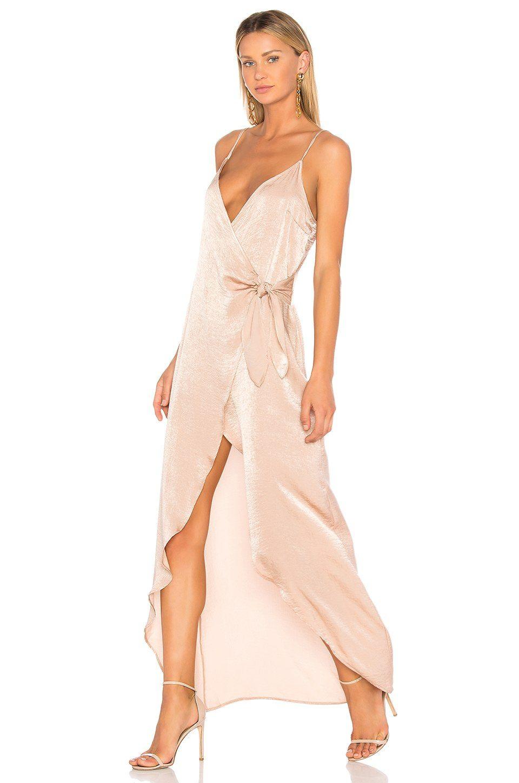 fcc910ed262 Donna Mizani Aurora Maxi Dress in Nude