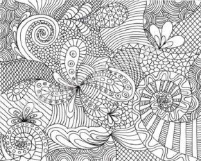 hard coloring page2 COLOR DRAW Pinterest Adult coloring