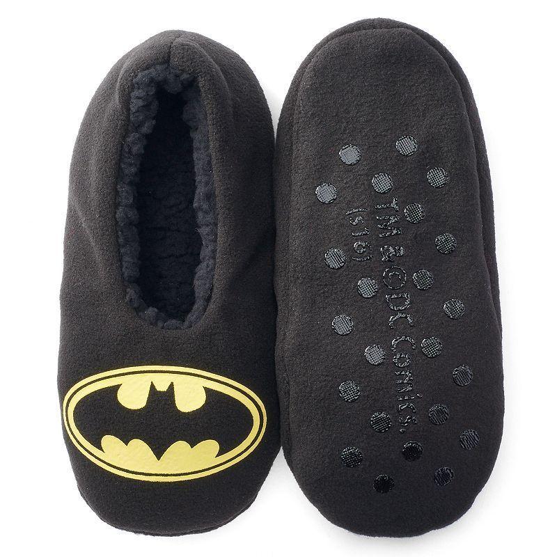 Boys DC Comics Batman Slipper Socks