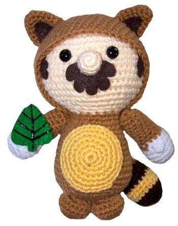 Mario Tanooki Amigurumi Crochet Pinterest Tiere Häkeln Tier
