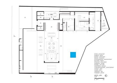 Studio mk27 marcio kogan v4 house floor plans for Gt issa floor plans