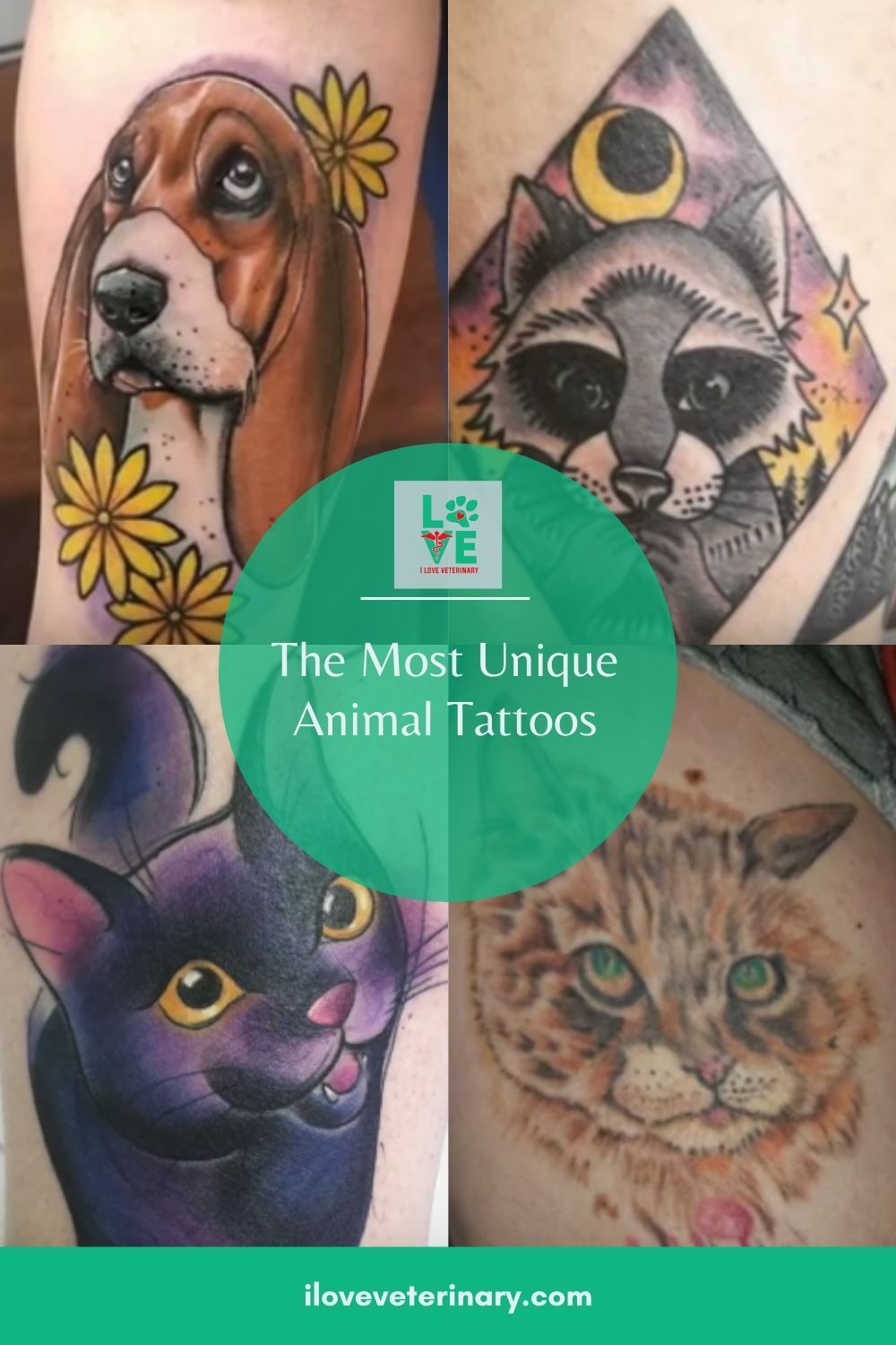 Do You Have An Animal Related Tattoo We Asked Our Facebook Followers To Share Their Tattoos With Our Community An In 2020 Unique Animal Tattoos Animal Tattoos Animals