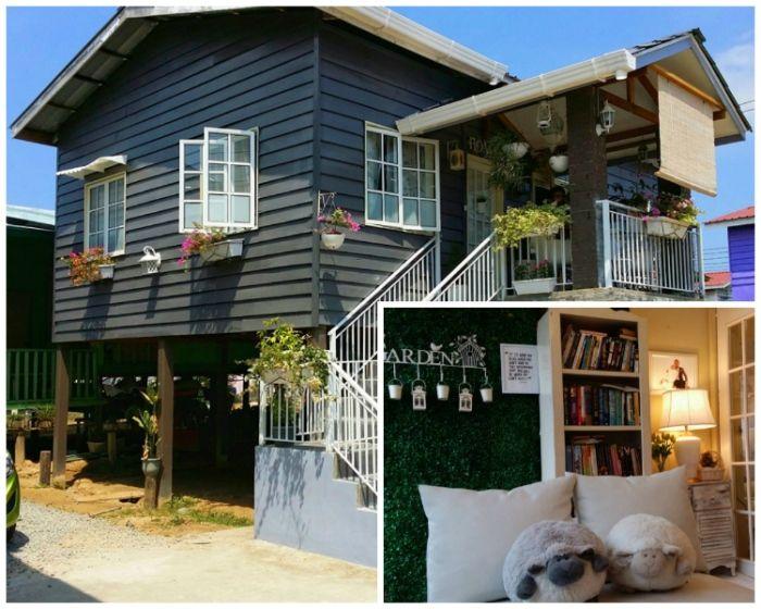 Rumah Papan Ini Di Bina Selama Tiga Bulan Dengan Kos Sekitar 30 Ribu Dan Hasilnya Sangat