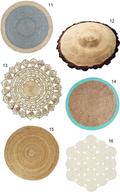 Round Jute Rugs Have A Ton Of Tactile Appeal For Adding A Layer Of Texture In A Neutral Room Try Layering Over A Rug Jute Round Rug Jute Rug Small
