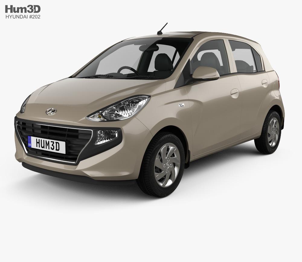 3d Model Of Hyundai Santro Asta 2018 Driving School Hyundai 3d