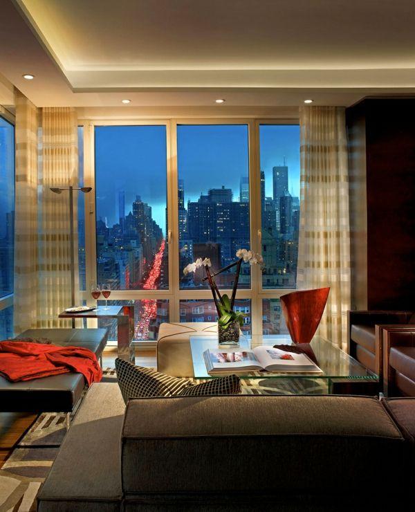 Wohnideen Apartment raffinierte penthouse wohnung pepe calderin design luxus und