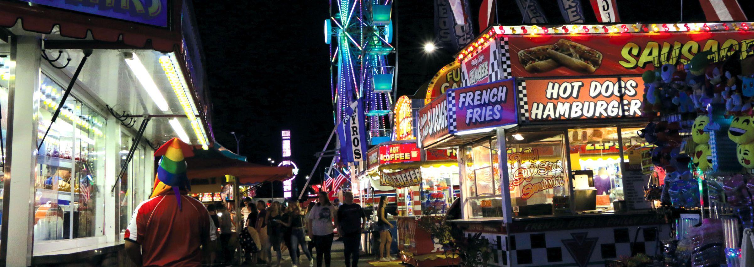 Upcoming County Fairs Carnivals Amusement Parks