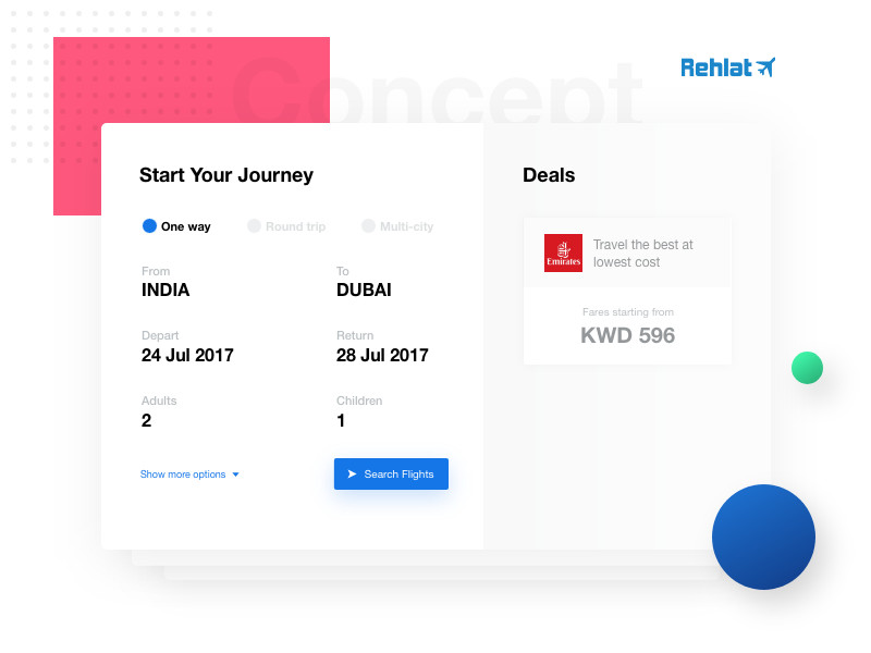 Rehlat Flight Booking Redesign Booking Flights Booking Redesign