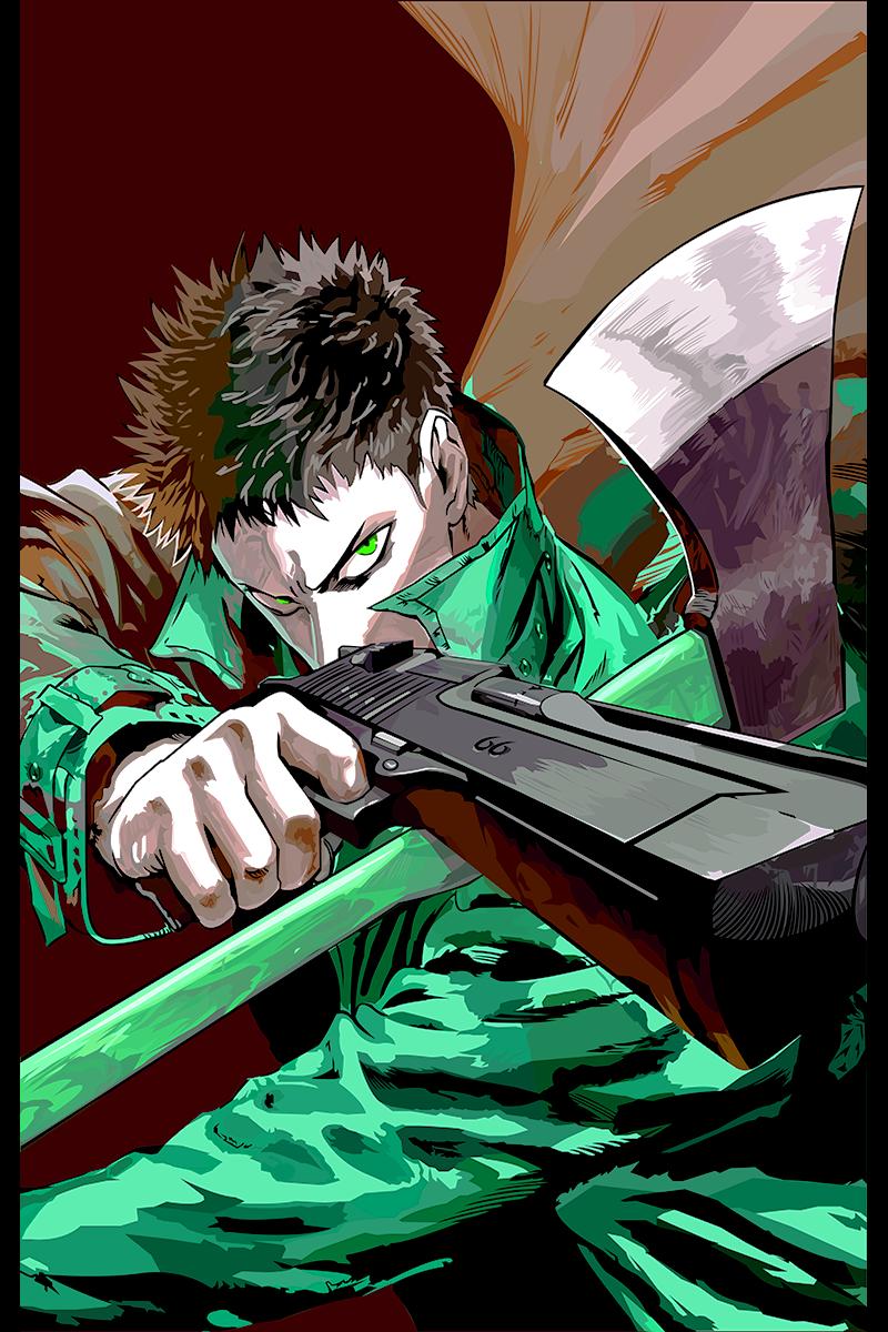 One Punch Man Zombieman onepunchman